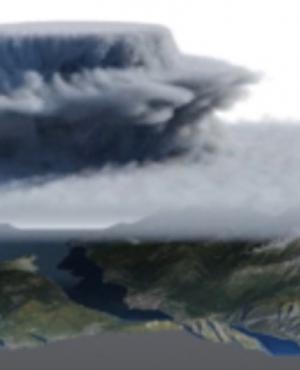 Symulowanie dynamiki chmur